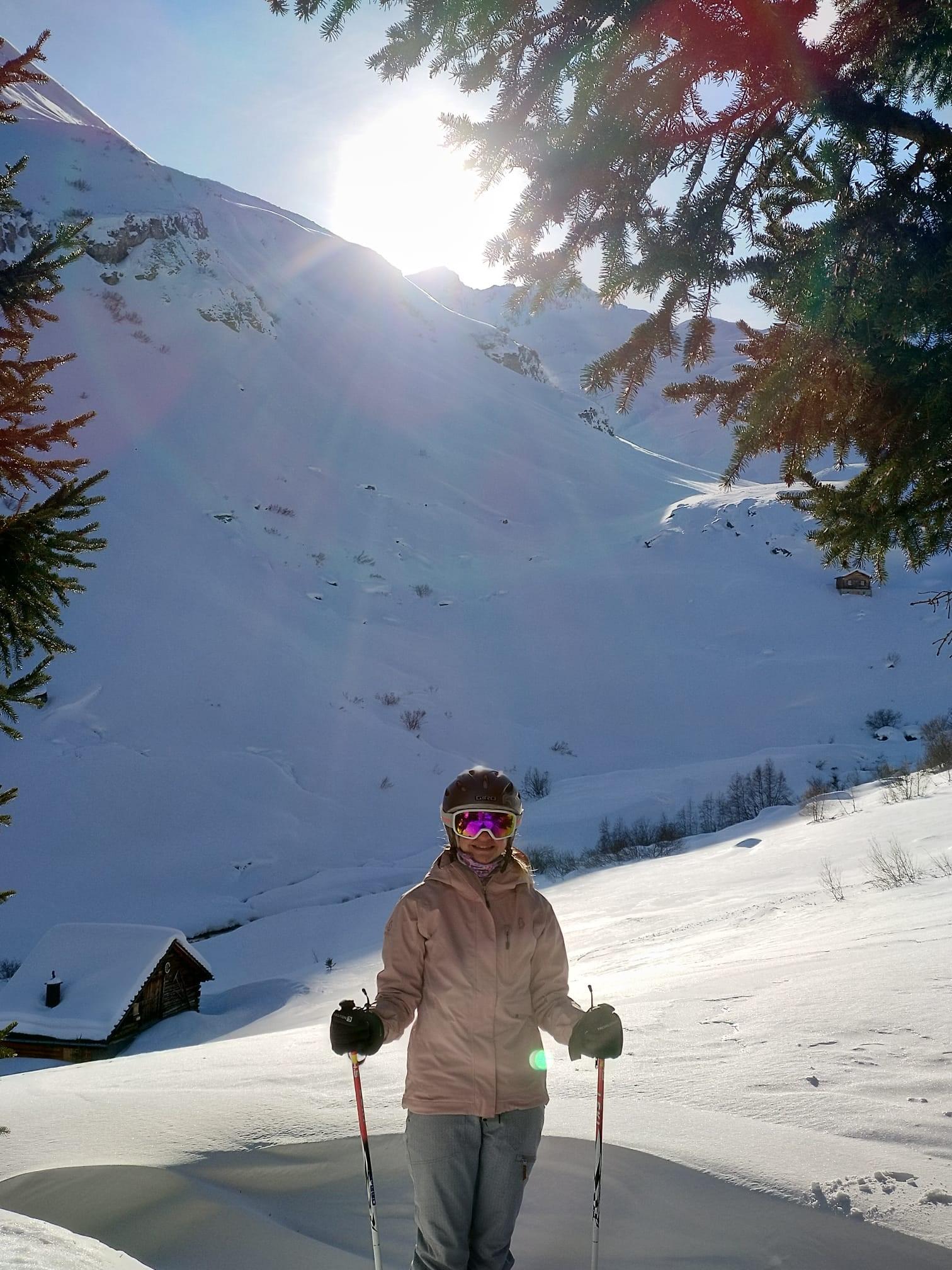 Skifahren 2